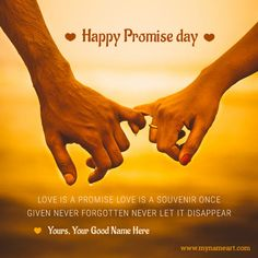 write name on promise day images.i promise you to never forget you quotes name pictures for happy promise day 2017.customize couple holding finger pics editor with my name promise day special.promise day images for whatsapp and facebook.promise day best profile pictures edit online with name.shayri for promise day photo download