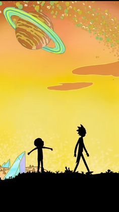 Made some more Rick and Morty iPhone 6 wallpapers! [1334x750]. iPhone 6/ 6S Wallpapers