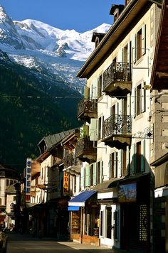 Chamonix, France Such beautiful place, the people so friendly and kind...