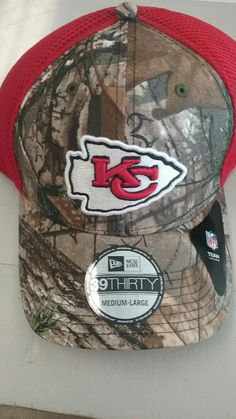 in stock 83edd 6ba0f Kansas City Chiefs Realtree Neo Red 39THIRTY Hat by New Era – MO Sports  Authentics, Apparel   Gifts