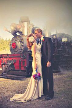 Roaring Camp Railroads - Felton. I love the smokey look... Very vintage