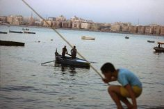 1993 Alexandria, Opera House, Egypt, Boat, City, Building, Travel, Staging, Dinghy