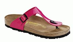 Birkenstock Original Gizeh Birko Flor Regular width Lack Pink M10 430 *** Hurry! Check out this great product