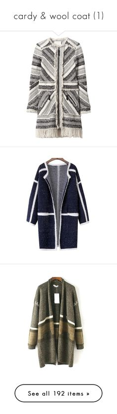 """cardy & wool coat (1)"" by bonadea007 ❤ liked on Polyvore featuring outerwear, coats, jackets, верхняя одежда, blackwhite, tweed coat, rebecca taylor, tweed wool coat, fringe coat and rebecca taylor coat"