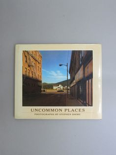 Title/ Uncommon   Author/ Stephen Shore