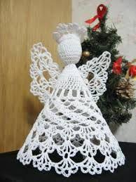 anjos de natal em croche - Pesquisa do Google