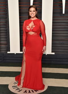 Ashley Graham à la soirée Vanity Fair 2016