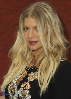 NNOW Awards for LogoTV- Fergie's beautiful locks were styled by Patricia Morales for Cutler/Redken.