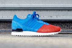 adidas zx700 - blue/red