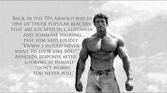 #Arnold #Fitness #Bodybuilding #Quote