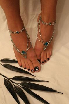 These barefoot sandals are kind of cool.... but I'm not sure I would actually wear them.  What about you?