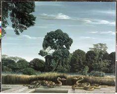 """Slangentuin (Snake Garden)"", 1956 / Carel Willink (1900-1983) / Private Collection"