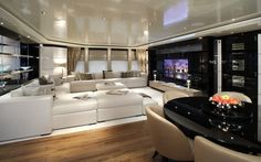 Want this for my luxury yacht! 70.5 metres superyacht Talisman C. Interior.