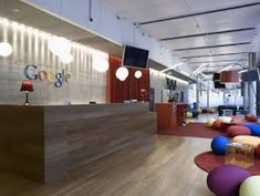 Awesome modern office design using colorful decorating and wooden table idea office colors plans office interior design color ideas modern office wall colors 2018 / Corporate Office Design, Modern Office Design, Office Interior Design, Office Interiors, Home Interior, Interior Design Inspiration, Design Ideas, Modern Offices, Office Designs