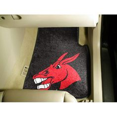 Central Missouri State NCAA Car Floor Mats 2 Front