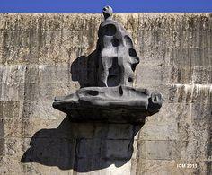 Detalle Santuario de Aranzazu, Guipuzcua. J. De Oteiza