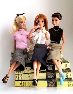 Nancy Drew themed dolls