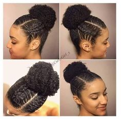 Natural Hair Updos: 35 Natural Updo Hairstyles For Prom Night Protective Hairstyles For Natural Hair, Natural Hair Updo, Natural Hair Growth, Natural Hair Bun Styles, Cabello Afro Natural, Black Hair Growth, Pelo Afro, Prom Hair Updo, Natural Hair Styles For Black Women
