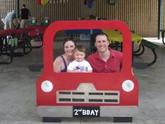 We had a super fun birthday party for our sweet almost 2 year old on Saturday! Jackson loves all things that move...planes, cars, trucks, ...