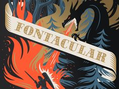 Fontacular 2015 Poster by Emrich Office