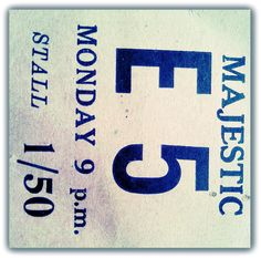CINEMA TICKET.MOMBASA