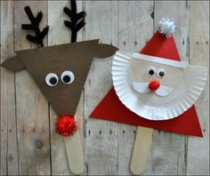 easy christmas kid crafts