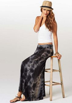 Ember Tie Dye Maxi Skirt - so cute... I actually just ordered this skirt yesterday and can't wait for it to be delivered!