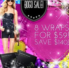 This deal is good until 4/21. Order now at Www.wrapitallwithapril.com