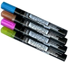Pebeo Vitrea 160  Glass Marker Pens