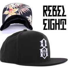 {UK & Ireland: Buy New: £32.50]: Rebel8 Logo Adjustable Cap Aloha Peak Print || British Indie Clothing - AcquireGarms.com