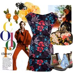 Bold Patterns and Rain Boots, created by gettinmarried613.polyvore.com
