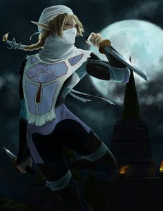Sheik by furafura.deviantart.com