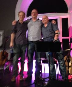 Mick O'Reagan, Vincent O'Rourke and myself after a wonderful show case in the Sirius Arts Center Cobh, Ireland