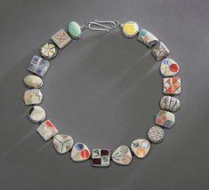 Visit the post for more. Artisan Jewelry, Art Museum, Garnet, Jewelry Design, Ceramics, Sterling Silver, Beads, Bracelets, Artist