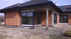 Projekt domu Wyjątkowy 2 201,09 m2 - koszt budowy - EXTRADOM Architectural House Plans, Garage Doors, Architecture, Outdoor Decor, Home Decor, Minimalist Home, Minimalism, Home, Projects