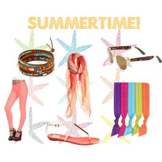 """""""Summertime!"""" by the-shoe-club on Polyvore"""