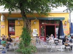 Cafe V, Vegetarian Cafe - Kreuzberg, Berlin