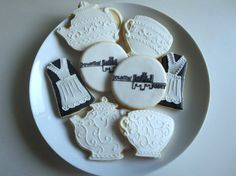 Downton Abbey Sugar Cookies by ALittleBitOfParis on Etsy