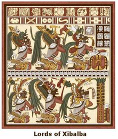 Los señores de Xibalbá (dioses mayas)