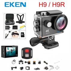 Original 100% EKEN H9 / H9R Action camera Ultra HD 4K WiFi 1080P/60fps 2.0 LCD 170D lens Helmet Cam waterproof pro sports camera  Price: 60.36 & FREE Shipping  #mensclothing|#mensfashion|#mensgifts|#accessories