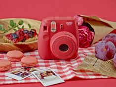 These Fujifilm cameras print your pictures instantly, perfect for parties or mini gallery walls. (fyi, affiliate link)