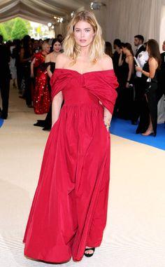 Doutzen Kroes from Gala du Met 2017 : le tapis rouge