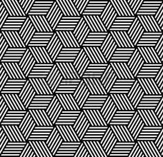 Patrón geométrico transparente en op art design. Ilustraciones vectoriales. Foto de archivo