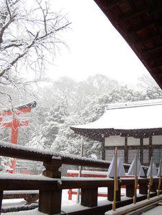 Shimogamo shrine, Kyoto, Japan   By narinari884. This photo was taken on December 28, 2010 using a Nikon Coolpix P60.