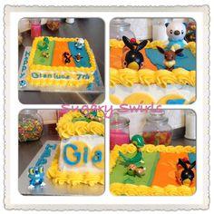 #Pokemon #birthdaycake #birthday #kids #sugaryswirlsco Custom Birthday Cakes, Birthday Kids, Pokemon, Desserts, Food, Tailgate Desserts, Deserts, Essen, Postres