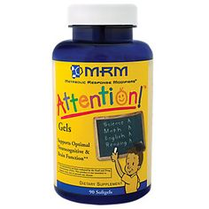 Buy Attention Gels (90 Softgels) from the Vitamin Shoppe. Where you can buy Attention Gels and other MRM products? Buy at at a discount price at the Vitamin Shoppe online store. Order today and get free shipping on Attention Gels (UPC:609492630032)(with orders over $35).