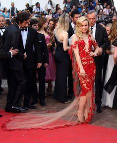Rachel McAdams // Marchesa // 2011 Cannes Film Festival