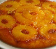 Bolo de Ananás - http://www.receitasja.com/torta-de-ananas/