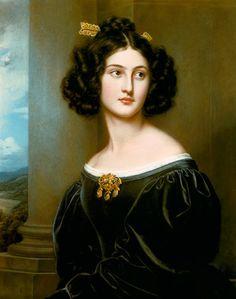Nanette Kaula - Joseph Karl Stieler - 1835