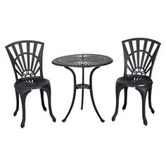 Christopher Knight Home Andorra 3-piece Cast Aluminum Patio Bistro Set